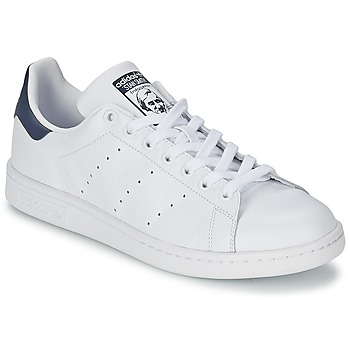 adidas Originals STAN SMITH Blanc / Bleu