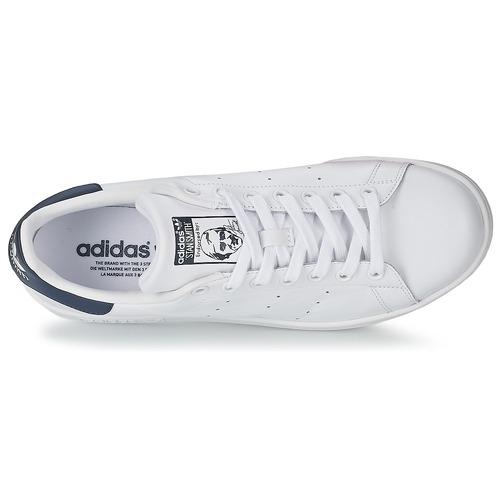 adidas Originals STAN SMITH Blanc / Bleu