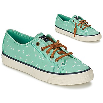 Chaussures Femme Baskets basses Sperry Top-Sider SEACOAST Vert