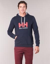 Vêtements Homme Sweats Helly Hansen HH LOGO HOODIE Marine