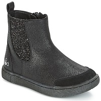 Chaussures Fille Boots Mod'8 BLABLA Noir