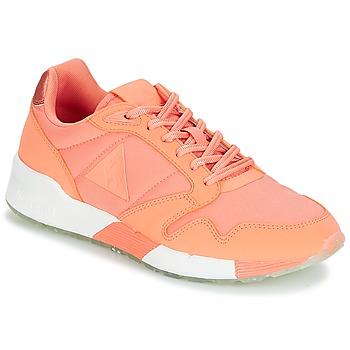 Chaussures Femme Baskets basses Le Coq Sportif OMEGA X W METALLIC Rose / Corail