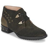 Chaussures Femme Boots Mam'Zelle XESTO Kaki