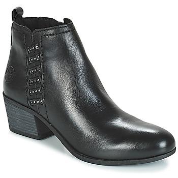 Chaussures Femme Bottines Marco Tozzi HISSU Noir