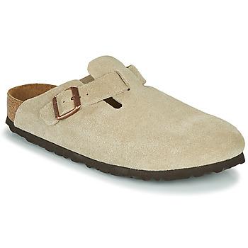 Chaussures Sabots Birkenstock BOSTON SFB Taupe