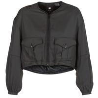 Vêtements Femme Blousons G-Star Raw RACKAM OS CROPPED BOMBER Noir