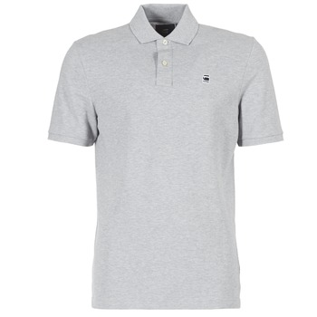 Vêtements Homme Polos manches courtes G-Star Raw DUNDA POLO Gris