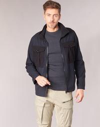 Vêtements Homme Blousons G-Star Raw TYPE C UTILITY PM OVERSHIRT Noir