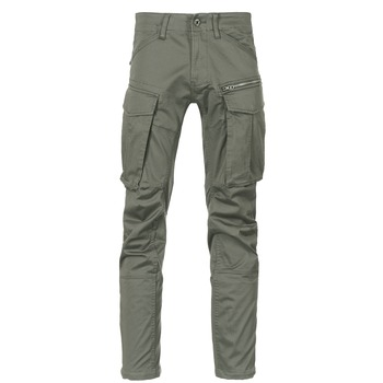 Vêtements Homme Pantalons cargo G-Star Raw ROVIC ZIP 3D STRAIGHT TAPERED Gris / Vert