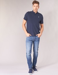 Vêtements Homme Jeans slim G-Star Raw D-STAQ 5-PKT SLIM Bleu Medium Indigo Aged
