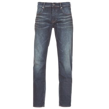 Vêtements Homme Jeans droit G-Star Raw 3301 STRAIGHT Bleu Dark Aged Antic