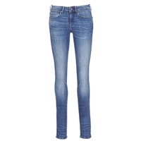 Vêtements Femme Jeans droit G-Star Raw MIDGE MID STRAIGHT Bleu Medium Indigo Aged
