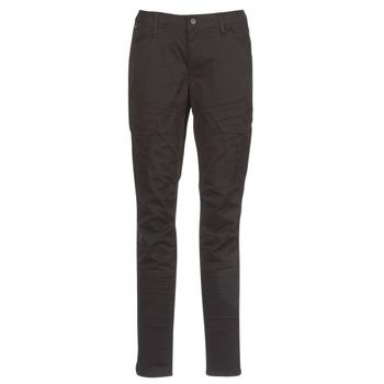 Vêtements Femme Pantalons cargo G-Star Raw ROVIC MID SKINNY Noir