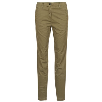 Vêtements Femme Chinos / Carrots G-Star Raw BRONSON MID SKINNY CHINO Kaki