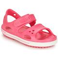 Chaussures Fille Sandales et Nu-pieds Crocs CROCBAND II SANDAL PS Rose