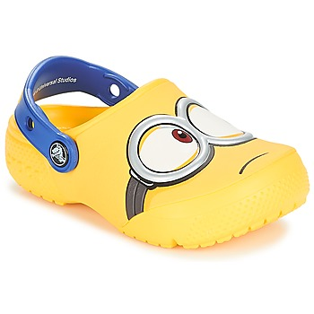 Chaussures Enfant Sabots Crocs CROCS FUNLAB MINIONS CLOG Jaune