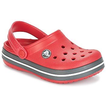 Chaussures Enfant Sabots Crocs CROCBAND CLOG K Rouge