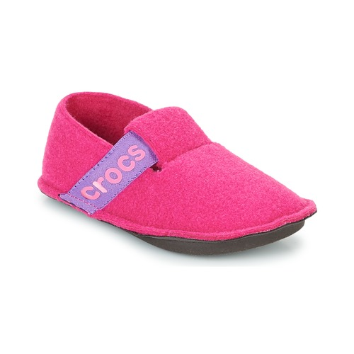 Chaussures Fille Chaussons Crocs CLASSIC SLIPPER K Rose