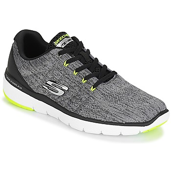 Chaussures Homme Baskets basses Skechers FLEX ADVANTAGE 3.0 Gris