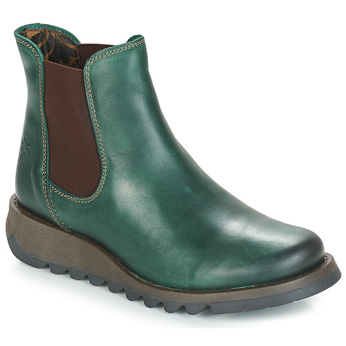 Chaussures Femme Boots Fly London SALV Vert