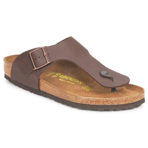 Chaussures Homme Tongs Birkenstock RAMSES Marron