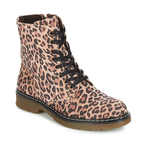 Chaussures Fille Boots Bullboxer LANA Léopard