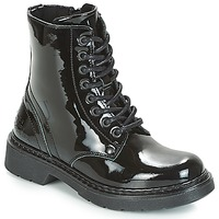 Chaussures Fille Boots Bullboxer LANA Noir
