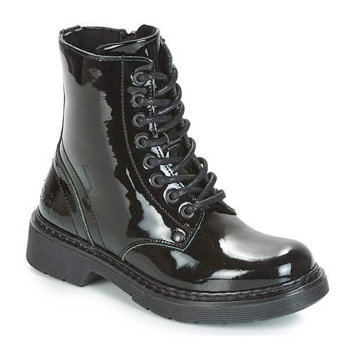 Chaussures Fille Boots Bullboxer LANA Noir