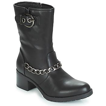 Chaussures Femme Bottines Les Petites Bombes LOANNE Noir