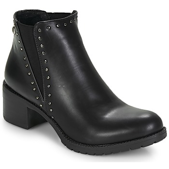 Chaussures Femme Bottines LPB Shoes LAURA Noir