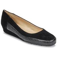 Chaussures Femme Ballerines / babies Perlato TRASA FERRER CAM NOIR