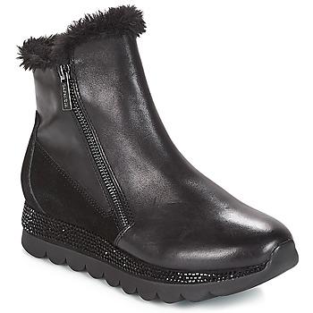 Chaussures Femme Boots Café Noir DEBARO Noir