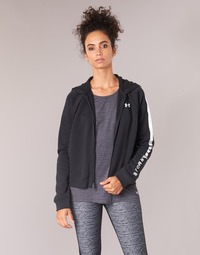 Vêtements Femme Sweats Under Armour RIVAL FLEECE FZ HOODIE Noir