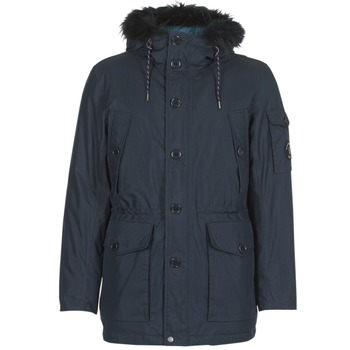 Vêtements Homme Parkas Vicomte A. ORLANDO EXPEDITION PARKA Marine