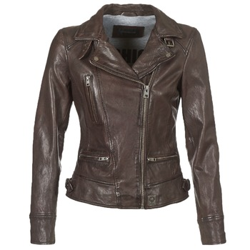 Vêtements Femme Vestes en cuir / synthétiques Oakwood VIDEO Marron