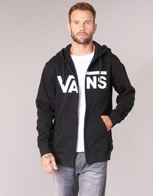 Vêtements Homme Sweats Vans VANS CLASSIC ZIP HOODIE Noir