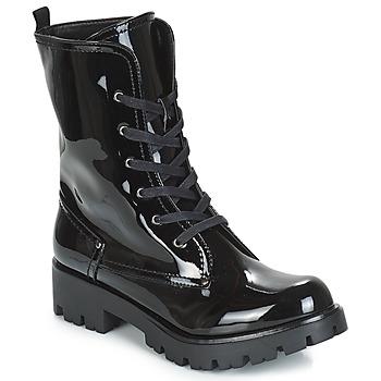 Chaussures Femme Boots Buffalo SKYLIGHT Noir Vernis