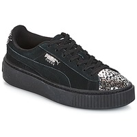 Chaussures Fille Baskets basses Puma G JR S PLATFORM ATHLUXE.BL BLACK