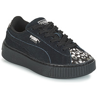Chaussures Fille Baskets basses Puma G PS S PLATFORM ATHLUXE.BL BLACK