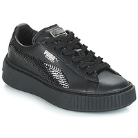 Chaussures Fille Baskets basses Puma G PS B PLATFORM BLING.BLK BLACK