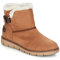 Chaussures Fille Boots Tom Tailor SIDYA Camel