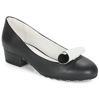 Chaussures Femme Ballerines / babies Lola Ramona ALICE Noir / Blanc