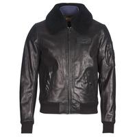 Vêtements Homme Vestes en cuir / synthétiques Redskins COMMANDER STRIKING Noir