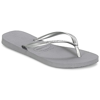 Chaussures Femme Tongs Havaianas SLIM Gris Acier