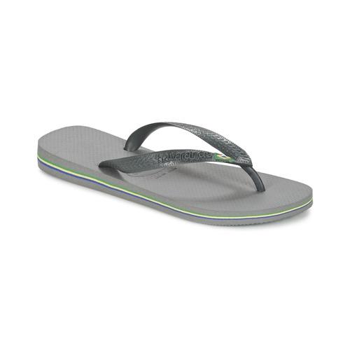 Chaussures Tongs Havaianas BRASIL Gris