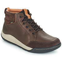 Chaussures Homme Baskets montantes Clarks ASHCOMBE Marron