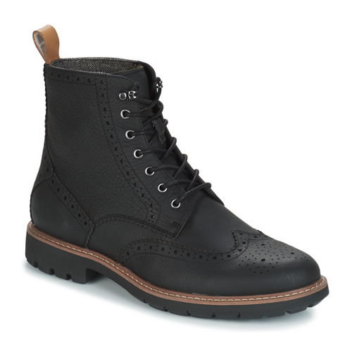 Chaussures Homme Boots Clarks BATCOMBE LORD Noir