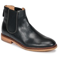 Chaussures Homme Boots Clarks Clarkdale Gobi Black Leather