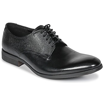 Chaussures Homme Derbies Clarks GILMORE Black Leather