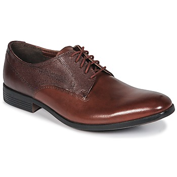 Chaussures Homme Derbies Clarks GILMORE British Tan Lea